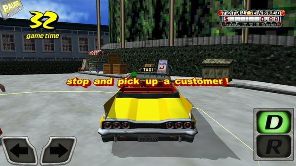 Игра Crazy Taxi 3D для Samsung Galaxy