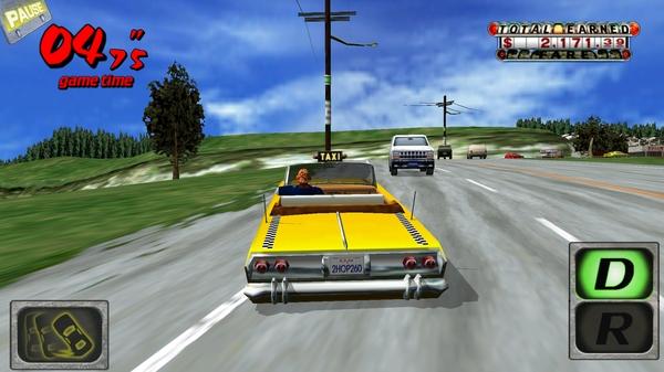 Игра Crazy Taxi 3D - мчимся по трассам
