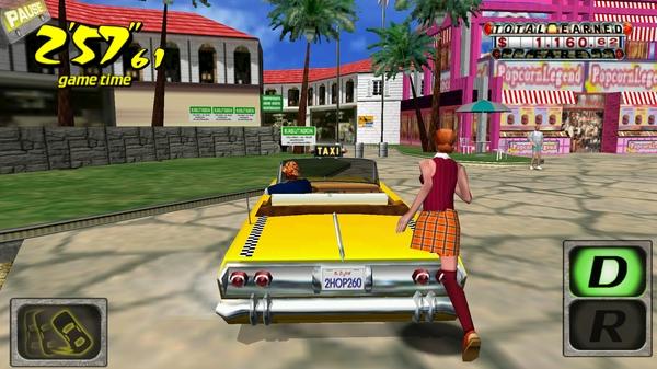 Игра Crazy Taxi 3D для Galaxy S4 I9500