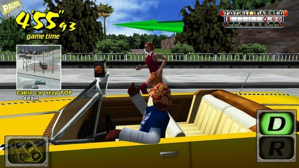 Гонки Crazy Taxi 3D на Галакси С4