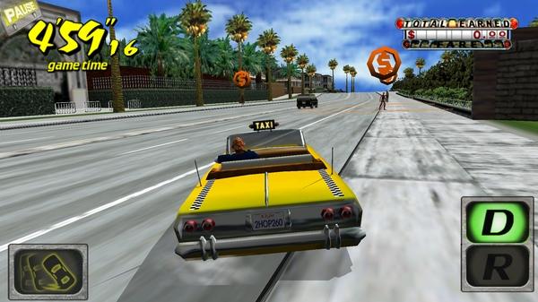 Игра Crazy Taxi 3D