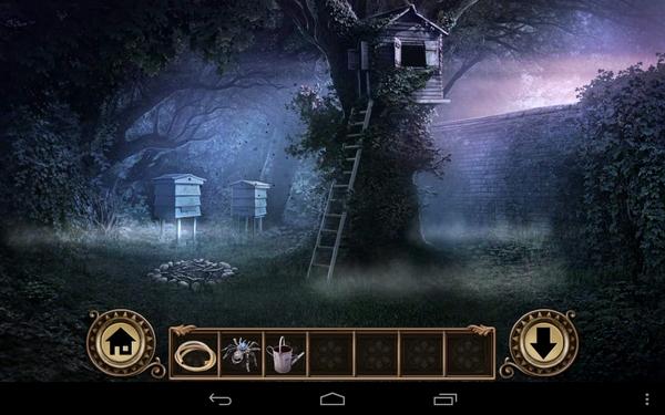 Квест Darkmoor Manor - домик в деревьях