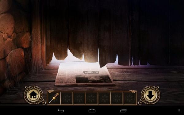 Квест Darkmoor Manor на Galaxy S4 - в подвале