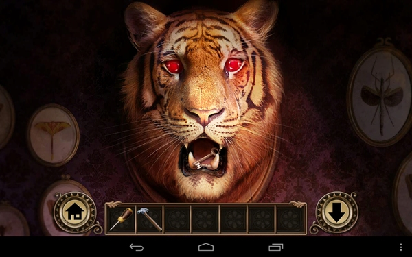 Darkmoor Manor на Galaxy S4 - голова тигра