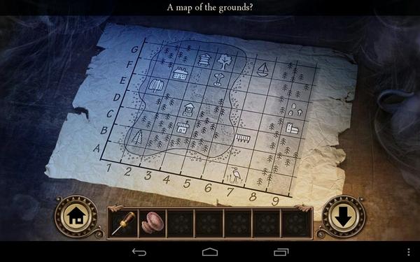 Квест Darkmoor Manor - карта