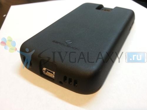 Кейс с аккумулятором на 7500 мАч для Samsung Galaxy S4
