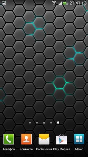 """""""Соты"""" - стильные, живые обои для Galaxy S4"""