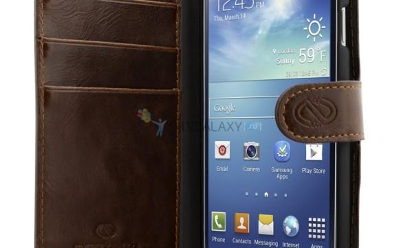 Премиум чехлы из кожи для Samsung Galaxy S4