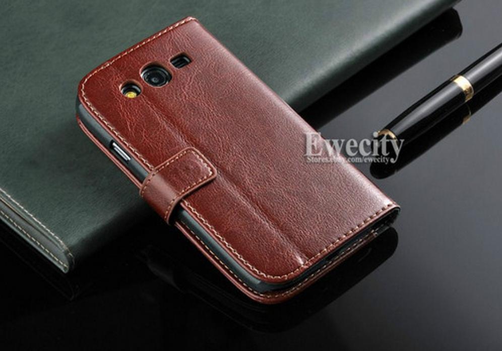 Samsung Galaxy Grand и стильный чехол из кожи