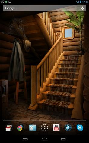 My Log Home - лестница