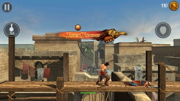 Prince of Persia Shadow&Flame на Samsung Galaxy S4