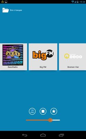 Программа RadioActive - онлайн радио в Galaxy S4
