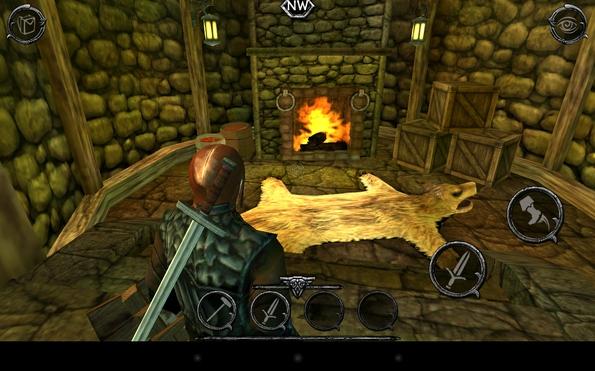 Ravensword: Shadowlands - в доме