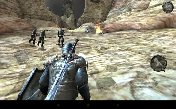 Ravensword: Shadowlands - супер RPG на Galaxy S4
