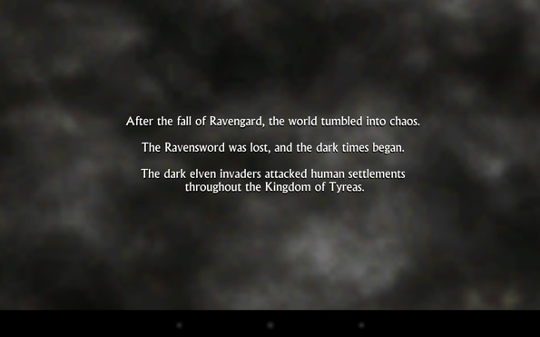 Ravensword: Shadowlands - история