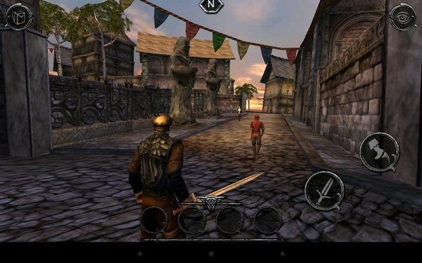 Ravensword: Shadowlands - ролевая игра для Galaxy S4