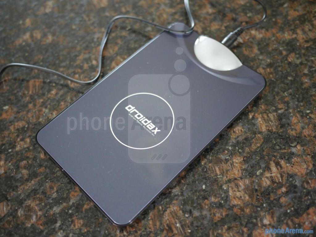 Беспроводное зарядное с кейсом для Samsung Galaxy S4