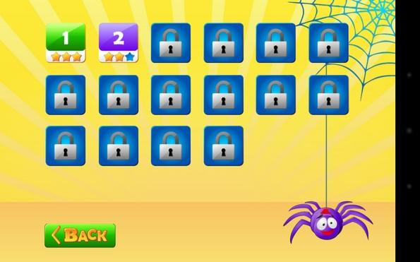 Spiders Escape 3D - уровни