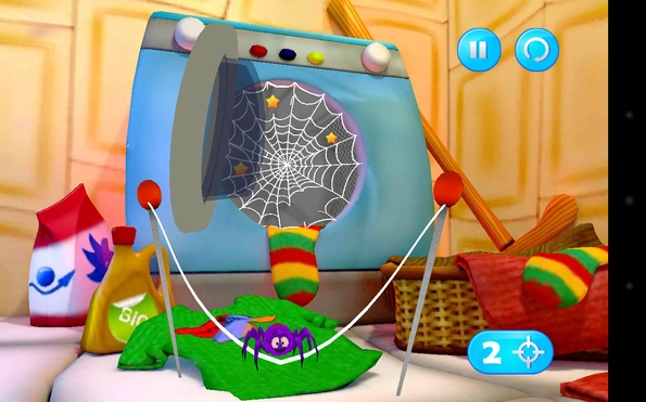 Spiders Escape 3D - аркада для Galaxy S4