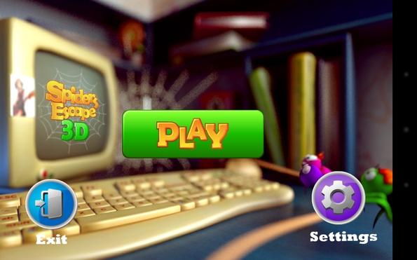 Spiders Escape 3D игра для Галакси С4
