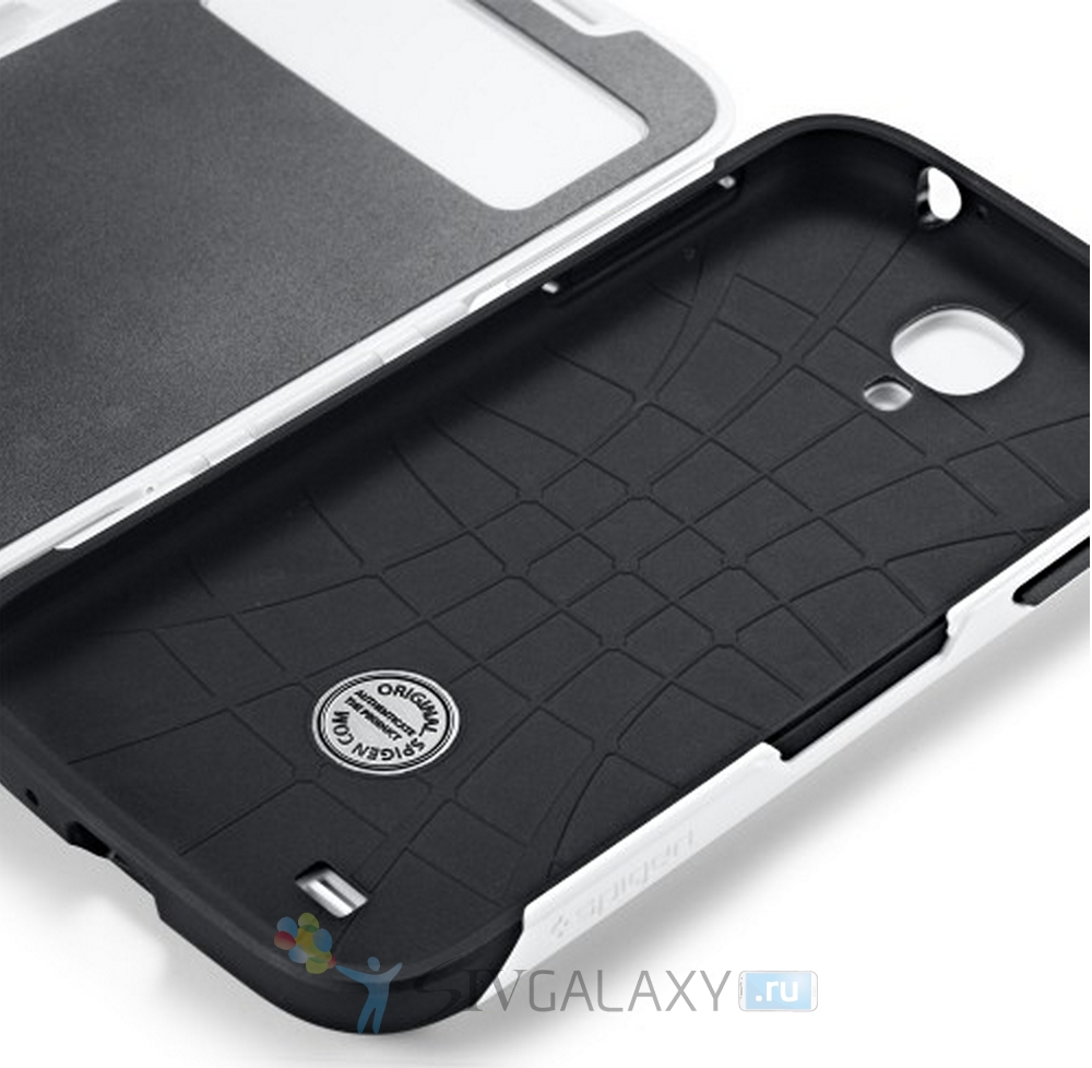 Чехол Spigen Slim Armor View Case для Galaxy S4 I9500 и I9505