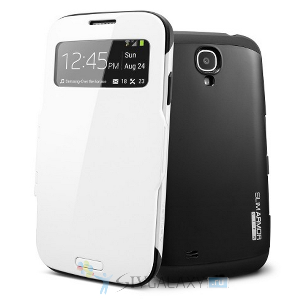 Кейс Spigen Slim Armor View Case для Samsung Galaxy S4