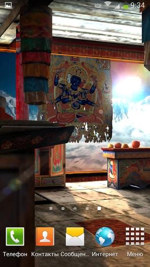 Анимированные обои Tibet 3D Free для Галакси С4