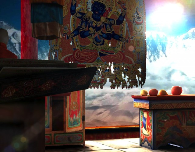 Живые обои Tibet 3D Free для Galaxy S4