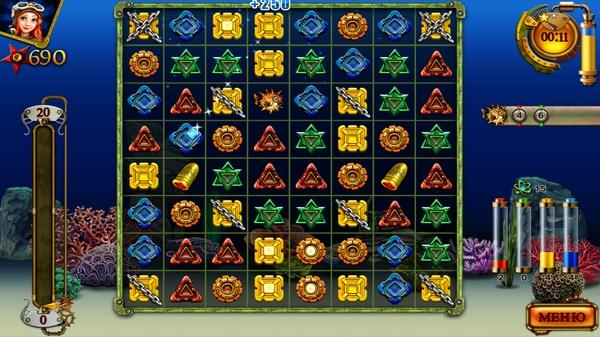 Сокровища Арабеллы - геймплей