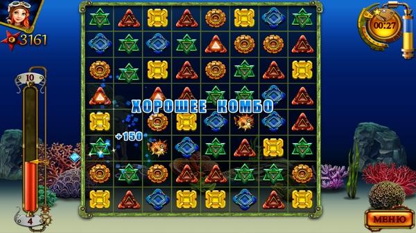 Сокровища Арабеллы - игра жанра три в ряд для Samsung Galaxy