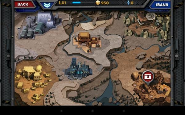WarCom: Genesis - карта