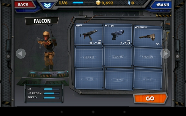 WarCom: Genesis - шутер для Galaxy S4