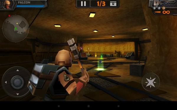 Игра WarCom: Genesis на Галакси С4
