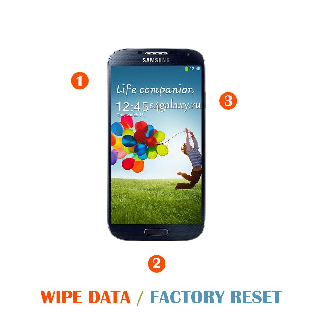 Как сделать полный сброс на Samsung Galaxy S4