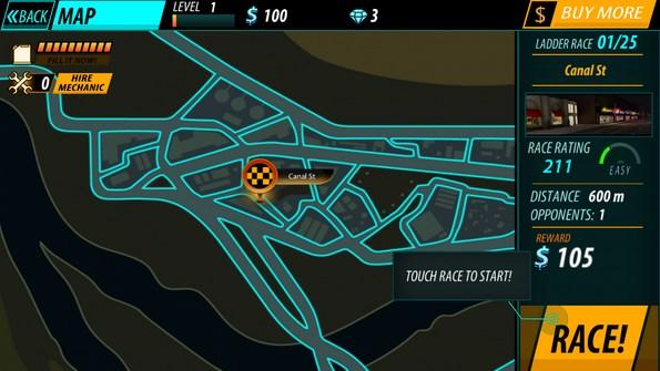 Car Race – быстрый драг для Galaxy S4