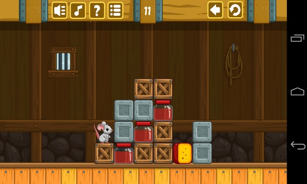 Cheese Barn - игра на Галакси С4