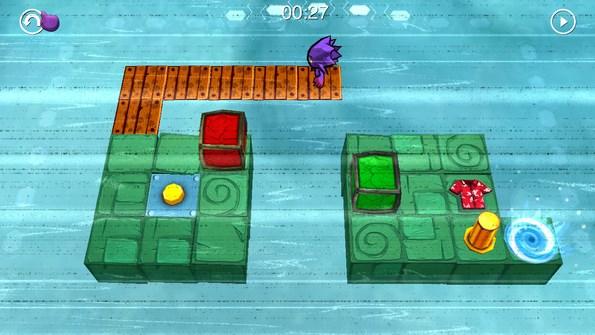 Chuck's Challenge 3D – пространственная головоломка для Galaxy S4