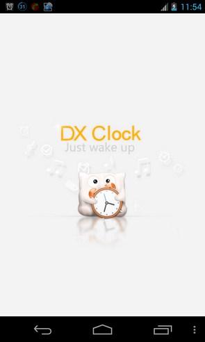 DX clock - будильник на Galalxy S4