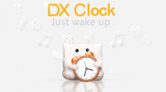 DX clock - будильник на Samsung Galalxy S4
