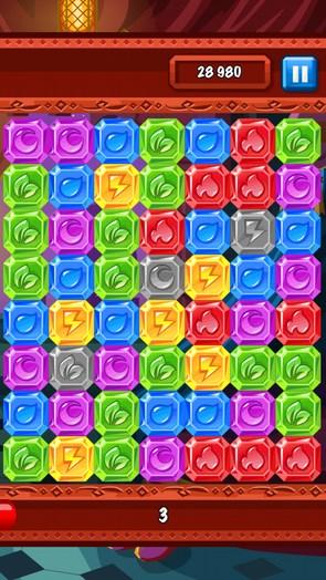Diamonds Dash – уничтожение алмазов для Галакси С4