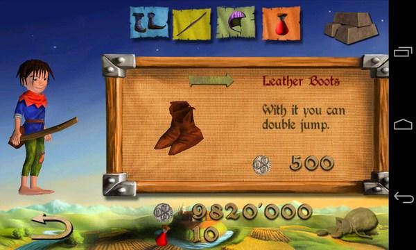 Dragon & Shoemaker  - игра-аркада на смартфоны Android