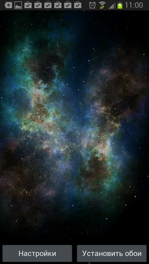 Galaxy Pack – зарождение галактики для Samsung Galaxy S4, S3, Note 2