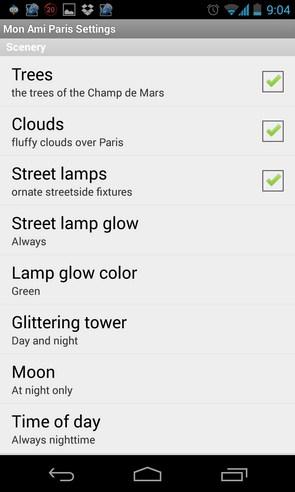Mon Ami Paris Live Wallpaper - живые обои на смартфоны Android