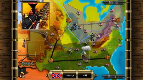 North vs South – американские войны для Галакси С4