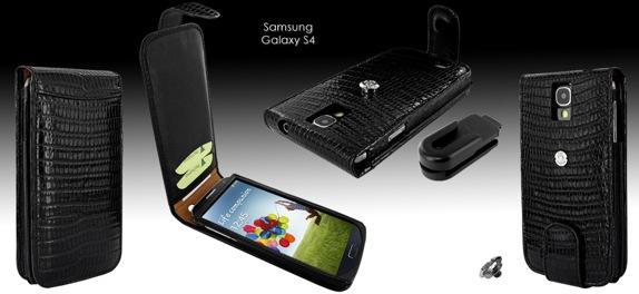 Чехол Piel Frama для Samsung Galaxy S4 - черный