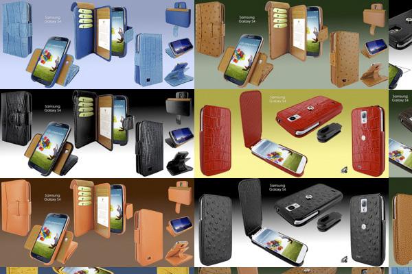Чехлы Piel Frama для Samsung Galaxy SIV I9500 и I9505