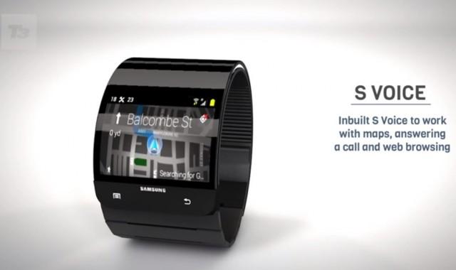 Известны расцветки Samsung Galaxy Gear