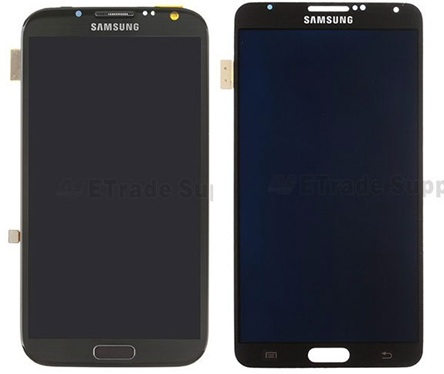 Сравнение дисплея Galaxy Note 3 и Note 2