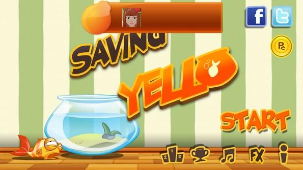 Saving Yello – бедная золотая рыбка для Galaxy S4