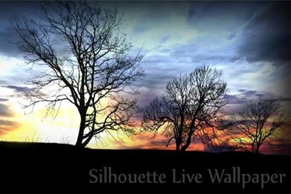 Silhouette Live Wallpaper – романтический сюжет для Galaxy S4